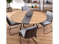 Rozkładany stół Dumio - dąb złoty Długość 118 cm Drewno Wysokość 76 cm Długość 148 cm Pomieszczenie Stoły do jadalni