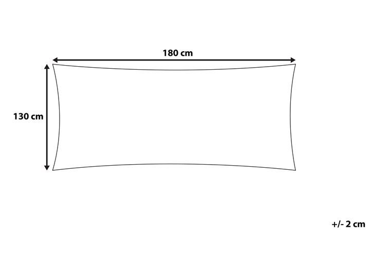 Koc beżowy bawełniany 130 x 180 cm narzuta styl boho Bawełna 130x180 cm Pomieszczenie Salon