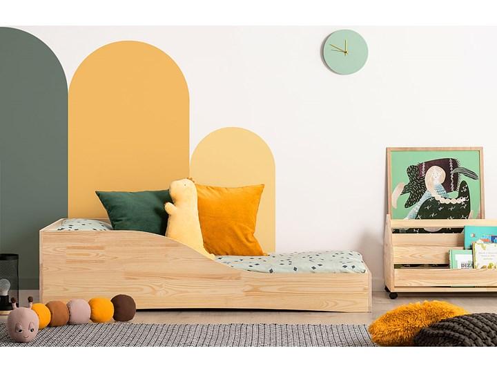 Drewniane łóżko młodzieżowe Abbie 4X- 21 rozmiarów Płyta MDF Rozmiar materaca 80x180 cm Drewno Rozmiar materaca 80x170 cm