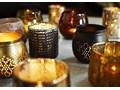 LAMPION BLACK OXYD GLASS MADAM STOLTZ Szkło Kolor Czarny Kategoria Świeczniki i świece
