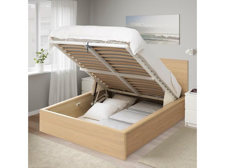 MALM Łóżko z pojemnikiem Łóżko drewniane Kategoria Łóżka do sypialni