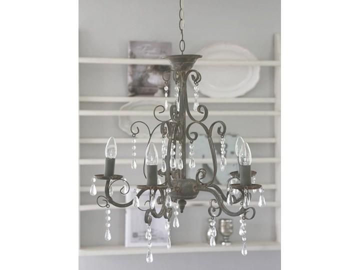 żyrandol Shabby Chic Grey Lampy Wiszące Zdjęcia Pomysły