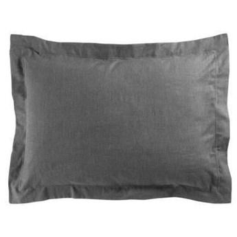 Poszewka na poduszkę ACTUALLY 50 x 70 cm, ciemnoszara