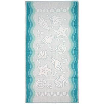 Ręcznik  FLORA OCEAN Turkusowy Greno