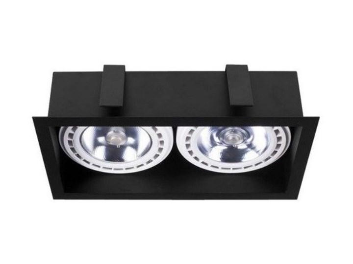 Lampa wpuszczana dwupunktowa MOD BLACK