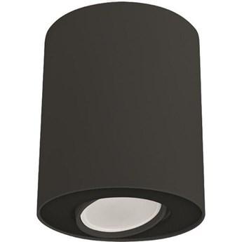 Spot sufitowy tuba SET czarny śr. 10cm