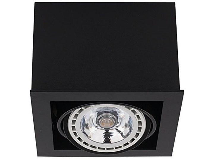 Lampa sufitowa BOX BLACK ES111