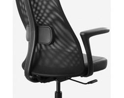 IKEA JARVFJALLET ciemnoszare krzesło obrotowe Krzesła i