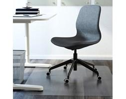 IKEA LANGFJALL ciemnoszare krzesło obrotowe Krzesła i