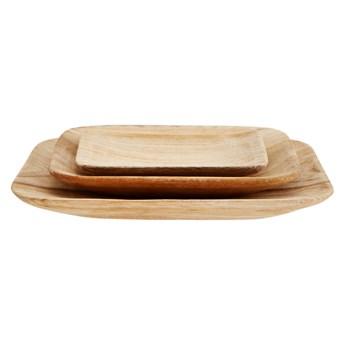 Madam Stoltz - Zestaw drewnianych talerzy