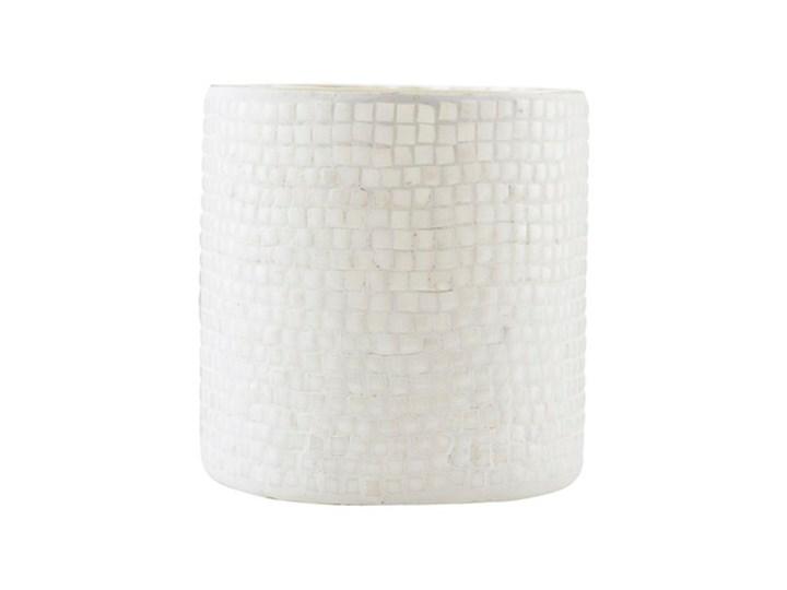 House Doctor - Świecznik na tealight Bricks Kolor Szary Szkło Kategoria Świeczniki i świece