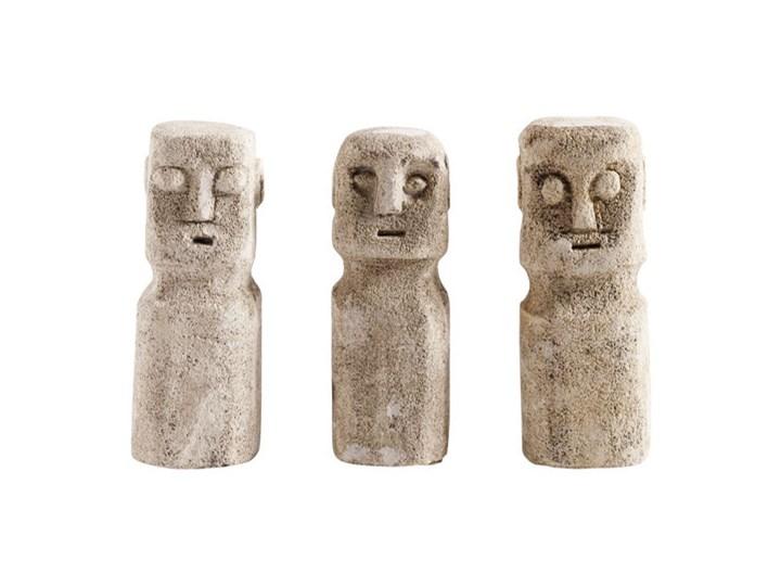 Muubs - Zestaw trzech figurek Ray Ludzie Beton Kategoria Figury i rzeźby Kolor Szary