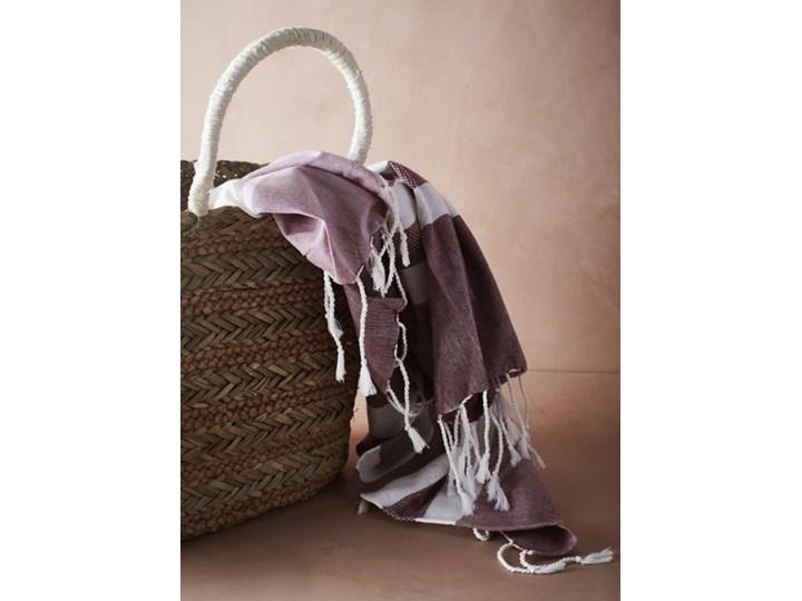 Madam Stoltz - Ręcznik kąpielowy Bawełna 100x180 cm Kategoria Ręczniki Łazienkowe Kolor Różowy
