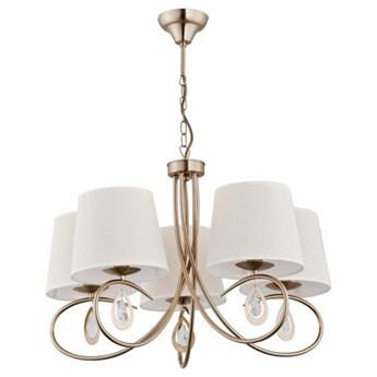 Nowoczesna lampa sufitowa IZYDA V patyna śr. 62cm