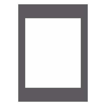 Passe-partout 172 czarne 50 x 70 cm