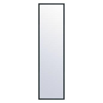 Lustro LR Hit czarne 30 x 120 cm w drewnianej ramie