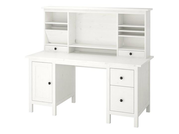 IKEA - HEMNES Biurko z nadstawką