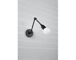 SOLLUX Oprawa Ścienna Kinkiet STARK Czarny Lampa Stalowa  do Salonu Sypialni Oświetlenie E27 LED