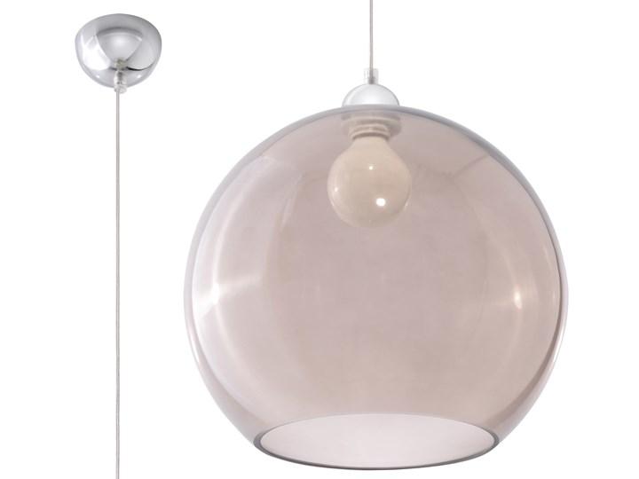 lampy podlogowe klosz z grafitowego szkla
