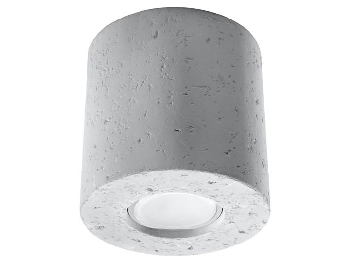 SOLLUX Nowoczesna Lampa Sufitowa Plafon ORBIS Beton Loftowe Oświetlenie
