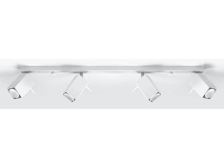 SOLLUX Nowatorska Regulowana Lampa Spot Plafon MERIDA 4L Biały Oświetlenie na Sufit LED