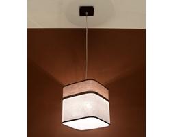 SOLLUX Nowoczesna lampa wisząca LATTE 1 Kawa Brąz E27