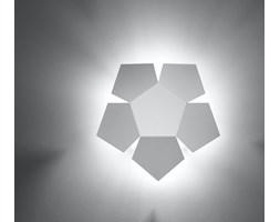 SOLLUX Elegancka Modna Lampa Na Ścianę Designerski Kinkiet PENTA Biały