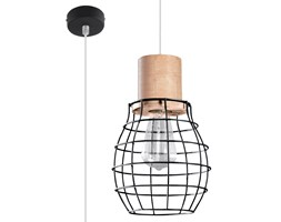 SOLLUX Lampa Sufitowa Wisząca RIDA Loftowe Oświetlenie do Salonu