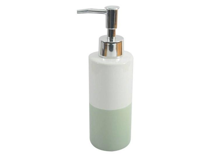 Dozownik do mydła Cooke&Lewis Diani szałwia Dozowniki Kategoria Mydelniczki i dozowniki Ceramika Kolor Biały