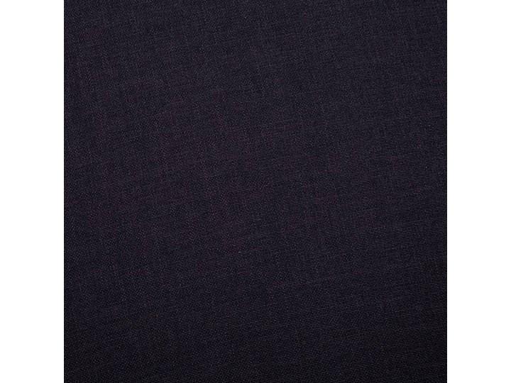 Elegancka trzyosobowa sofa Williams 3X - czarna Boki Z bokami Stała konstrukcja Szerokość 82 cm Rozkładanie