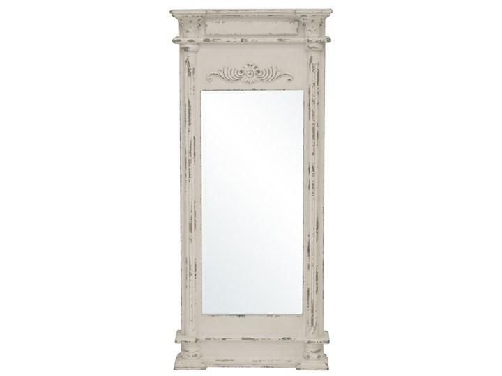 EMILIA lustro vintage w ramie postarzanej, 126x53 cm