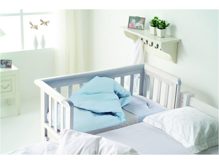 Troll Bedside Crib - łóżeczko dostawne Biały