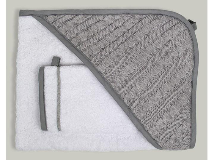 Malmo - okrycie kąpielowe 80x80 cm z myjką