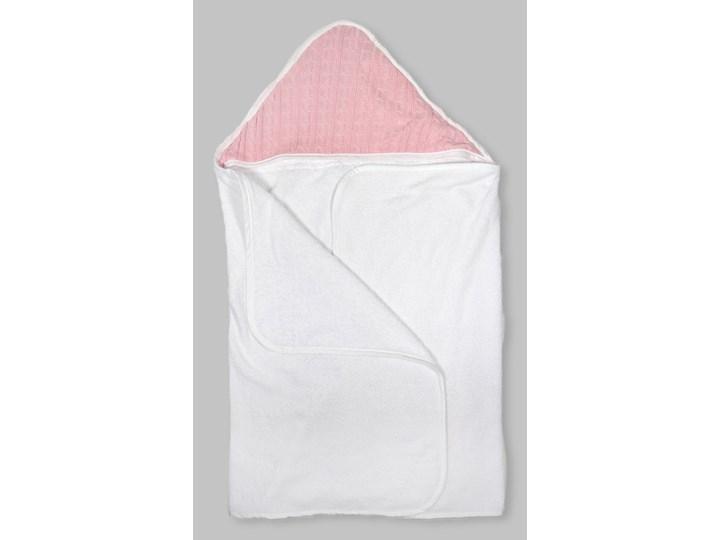 Malmo Pink – duży ręcznik kąpielowy z kapturem 140×70 idealny na basen!