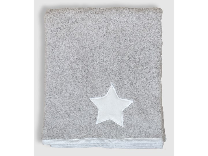 Gwiazda (lamówka biała) - ręcznik kąpielowy 100x60 cm