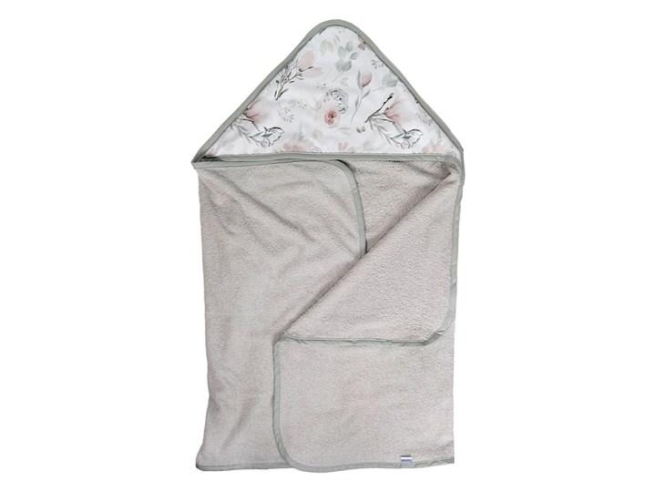 Magnolia - duży ręcznik kąpielowy z kapturem 140x70 idealny na basen!