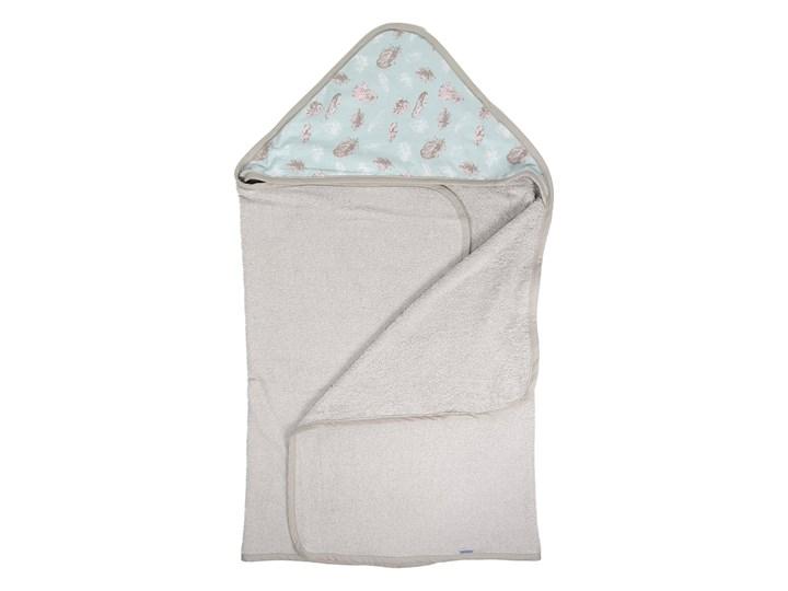 Piórko - duży ręcznik kąpielowy z kapturem 140x70 cm idealny na basen!