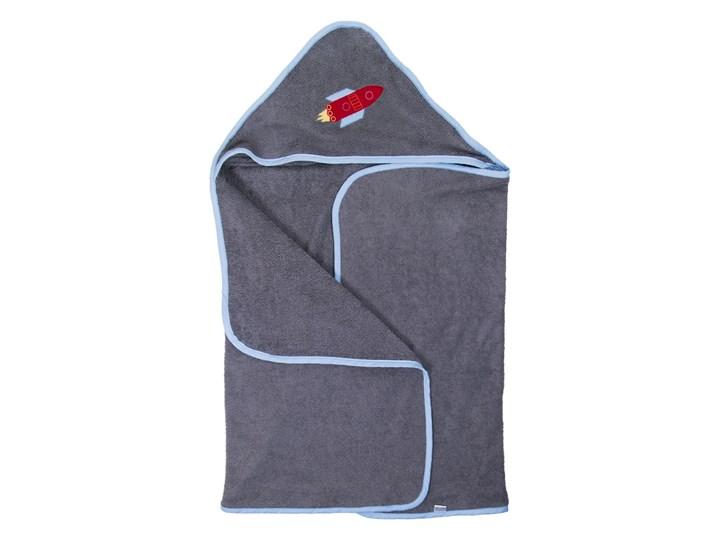 Kosmos - duży ręcznik kąpielowy z kapturem 140x70 idealny na basen!