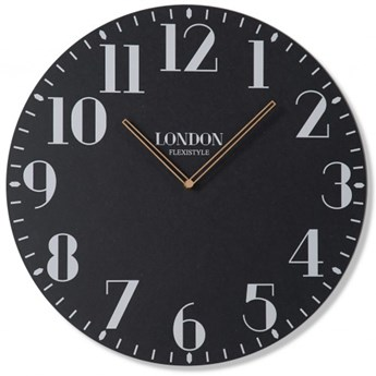 Duży zegar ścienny Londyn Retro 50cm
