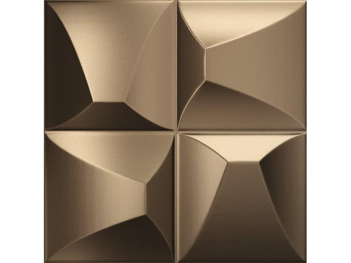 Ena Brozne 25x25 płytka dekoracyjna ścienna kolor brązowy Płytki ścienne Wzór Geometryczny Płytki podłogowe Kwadrat 25x25 cm Kategoria Płytki