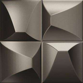 Ena Metalic 25x25 płytka dekoracyjna ścienna kolor metalic