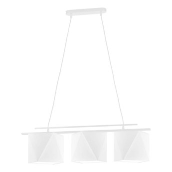Biała lampa wisząca MALIBU WYSYŁKA 24H