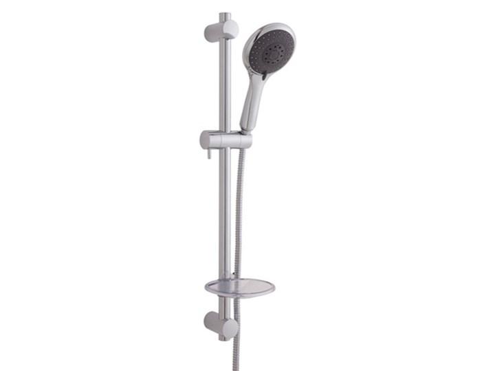 Zestaw prysznicowy Bilis 4-funkcyjny chrom Wyposażenie Z słuchawką
