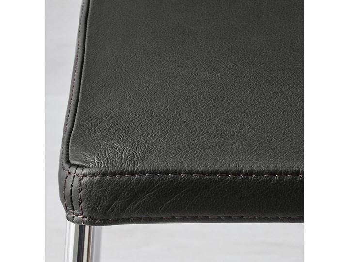 BERNHARD Krzesło Skóra Głębokość 40 cm Wysokość 77 cm Głębokość 50 cm Szerokość 45 cm Szerokość 50 cm Wysokość 48 cm Kategoria Krzesła kuchenne