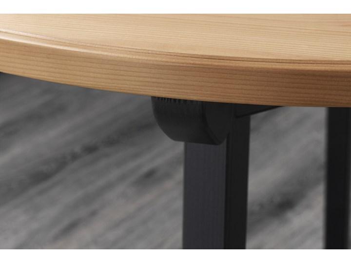 GAMLARED / STEFAN Stół i 2 krzesła Kolor Brązowy Kolor Czarny