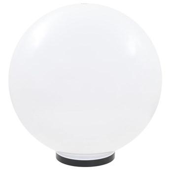 vidaXL Lampa zewnętrzna LED, kula 50 cm, PMMA
