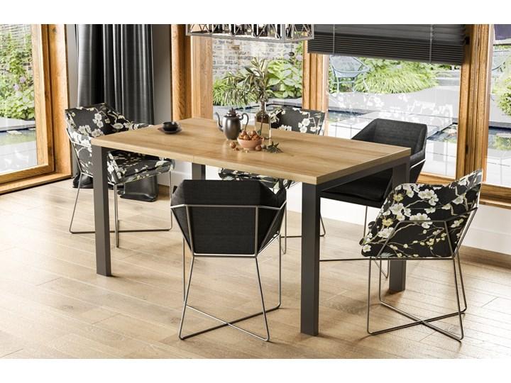 Stół Garant 170 z blatem 80x80 rozkładany do 170 cm Długość 80 cm  Pomieszczenie Stoły do jadalni Szerokość 80 cm Rozkładanie Rozkładane