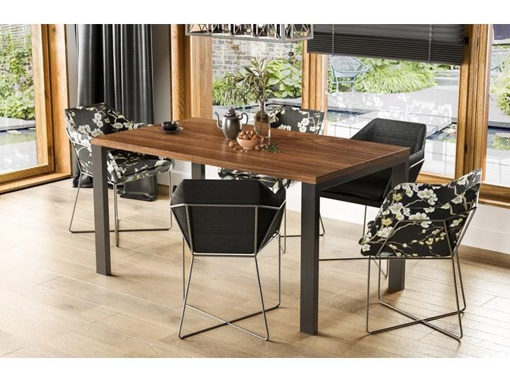Stół Garant 170 z blatem 80x80 rozkładany do 170 cm Długość 80 cm  Rozkładanie Rozkładane Szerokość 80 cm Styl Nowoczesny