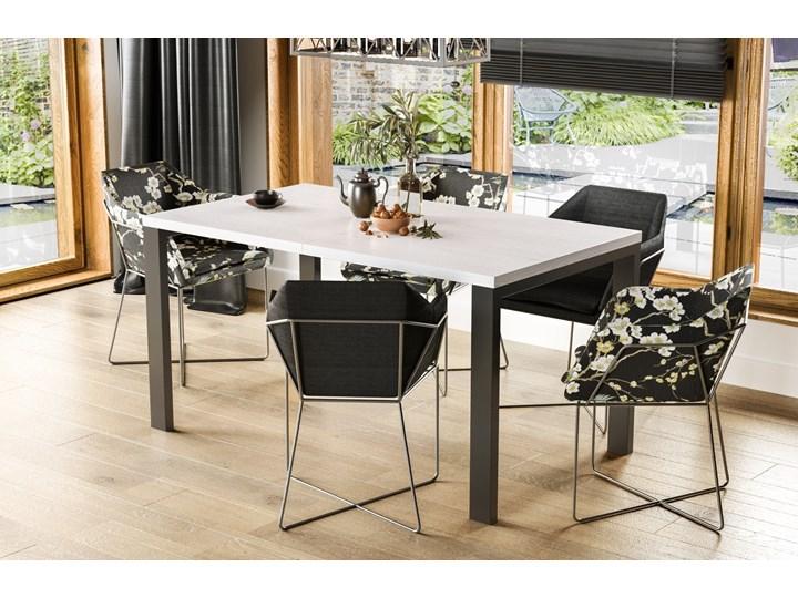 Stół Garant 170 z blatem 80x80 rozkładany do 170 cm Szerokość 80 cm Długość 80 cm  Rozkładanie Pomieszczenie Stoły do jadalni
