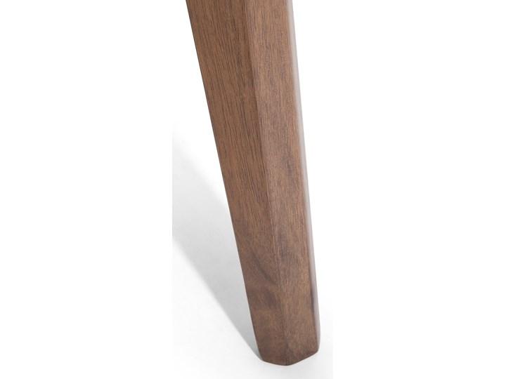 Stół do jadalni ciemne drewno 150 x 90 cm prostokątny styl retro Płyta MDF Długość 150 cm  Kolor Brązowy
